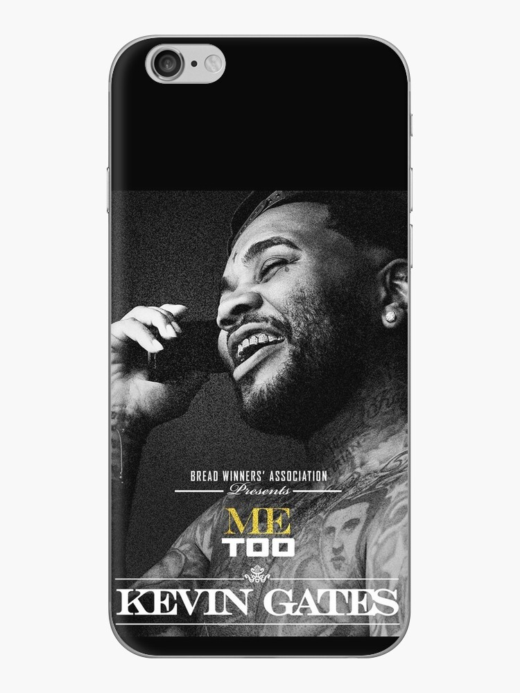 'Tahu Kevin Gates Tour 2019' iPhone Case by Pairwoodrome
