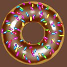 Chocolate Donut with Sprinkles! by Bryan Politte