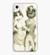 Victorian Cat Series 01 iPhone Case/Skin
