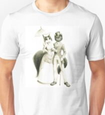 Victorian Cat Series 01 Unisex T-Shirt