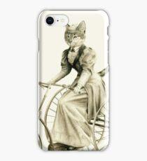 Victorian Cat Series 03 iPhone Case/Skin