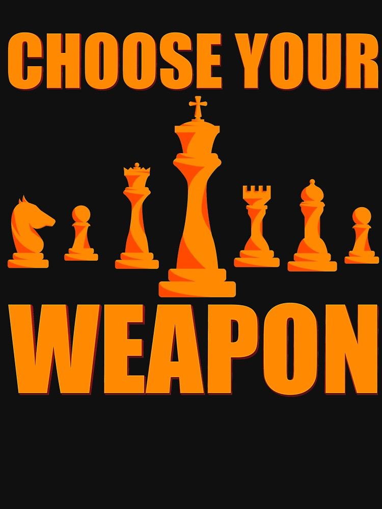 Choose Your Weapon by TrendJunky