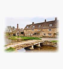 The Mill  Lower Slaughter  Cotswolds  UK Photographic Print