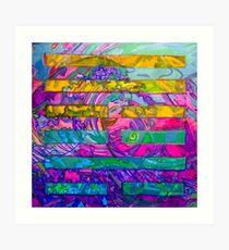 Hexagram 59- Huàn (Dispersion)  Art Print