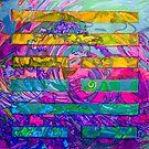 Hexagram 59- Huàn (Dispersion)  by Denise Weaver Ross