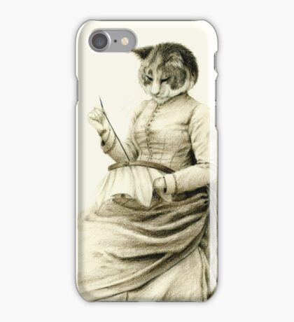 Victorian Cat Series 05 iPhone Case/Skin