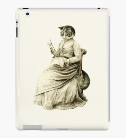 Victorian Cat Series 05 iPad Case/Skin