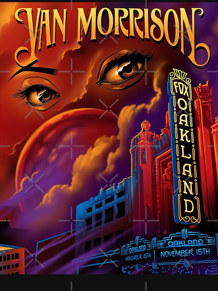 Furgoneta de edición limitada impresa Morrison cartel de denger85