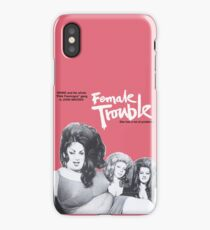 female trouble divine john waters iPhone Case