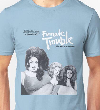 female trouble divine john waters Unisex T-Shirt