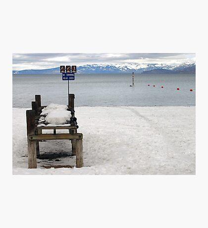 No Swimming? Photographic Print