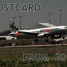 Postcards From The Past - Jetstar On Finals 2011 by muz2142