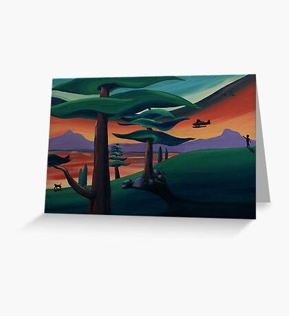 Seaplane #2 Greeting Card