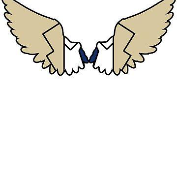 Castiel - Bold Angel Wings by fabricate