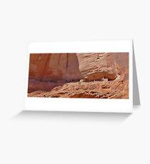 Cliff Dwellings Greeting Card