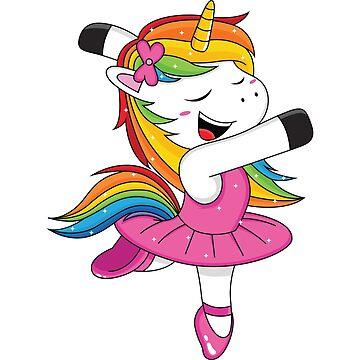 Ballet Unicorn by TrendJunky