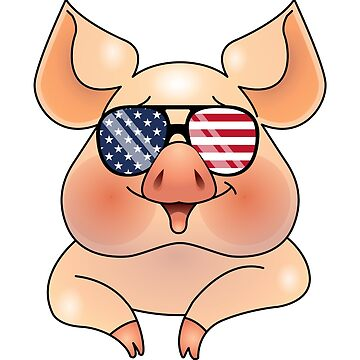 4th of July Pig by TrendJunky