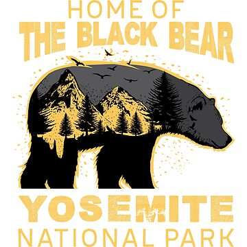 Yosemite National Park Sticker by TrendJunky