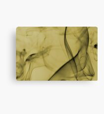 Smoldering Smoke Muted Pastel 006 Canvas Print