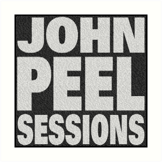 Peel Sessions Infographic by innerspaceboy