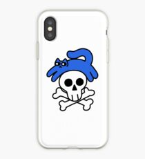 Cat And Skull And Crossbones iPhone Case