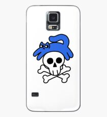 Cat And Skull And Crossbones Case/Skin for Samsung Galaxy