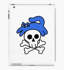Cat And Skull And Crossbones iPad Case/Skin