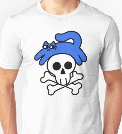 Cat And Skull And Crossbones T-Shirt