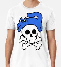 Cat And Skull And Crossbones Premium T-Shirt