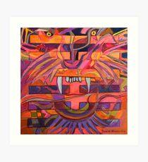 Hexagram 21-Shih Ho (Biting Through) Art Print