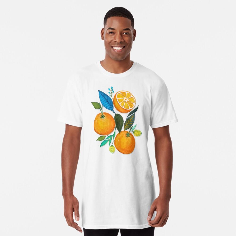 Lady Orange Camiseta larga