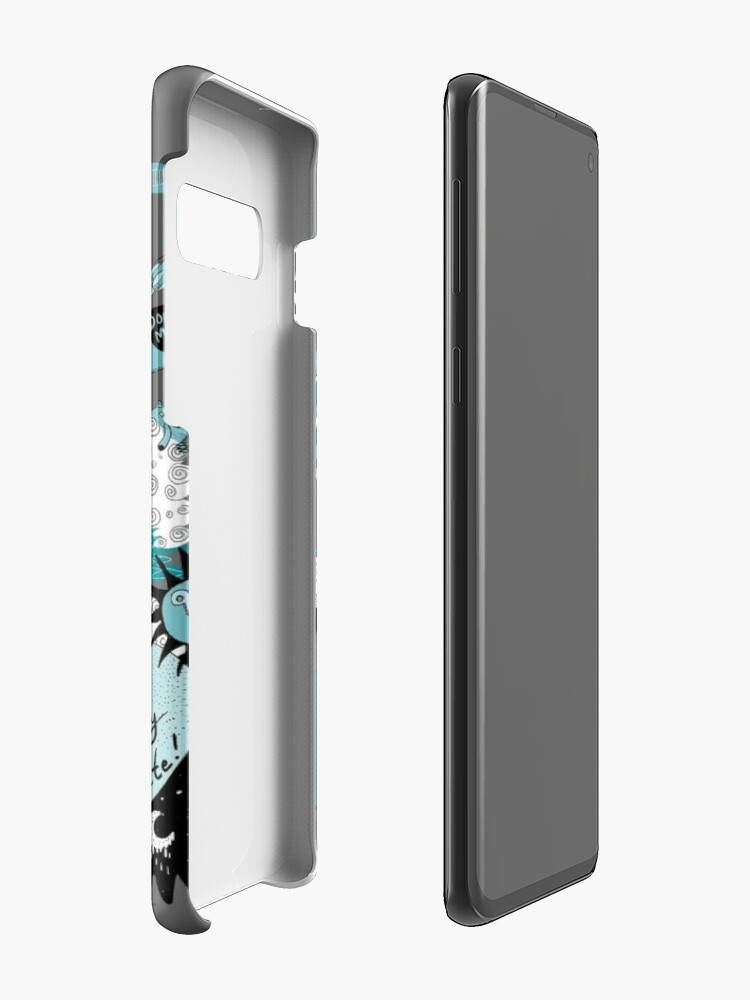 Alternate view of THE FROZEN CAT HEADS - LIVE!  Case & Skin for Samsung Galaxy