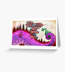 Tenticle Business Greeting Card