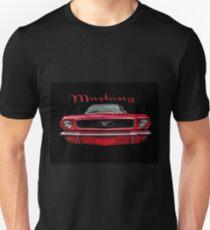Little Red Mustang Unisex T-Shirt