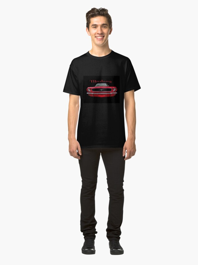 Alternate view of Little Red Mustang Classic T-Shirt