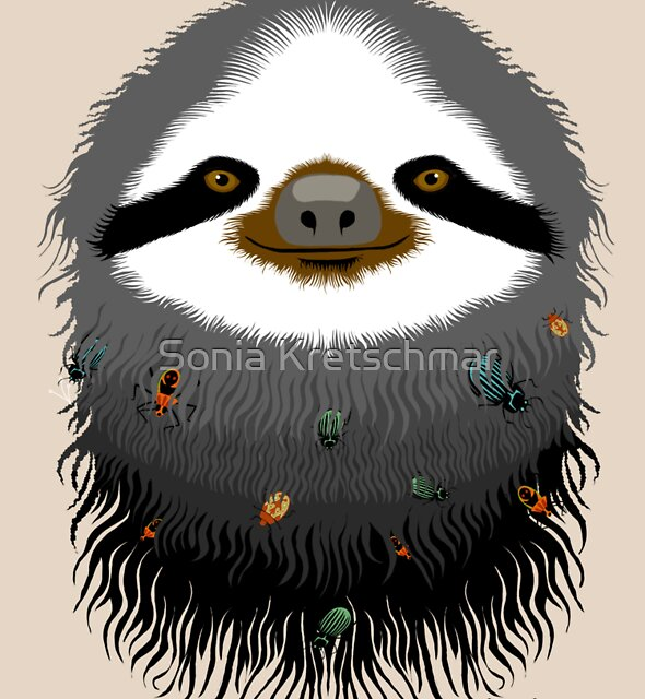 Sloth buggy by Sonia Kretschmar