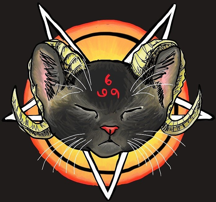 Worship the Devil Kitty by sneercampaign
