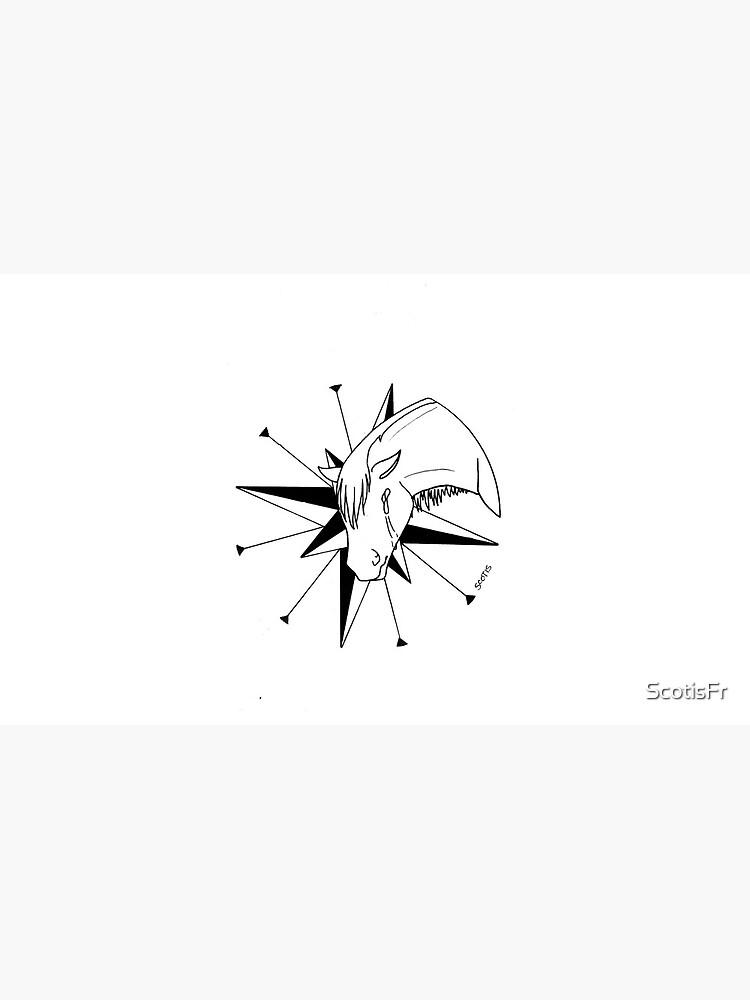 «InkTober 4 (Cheval)» par ScotisFr