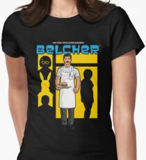 Belcher Womens Fitted T-Shirt