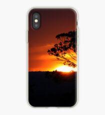 Hügels Sonnenuntergang iPhone-Hülle & Cover