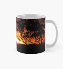 Hügels Sonnenuntergang Tasse