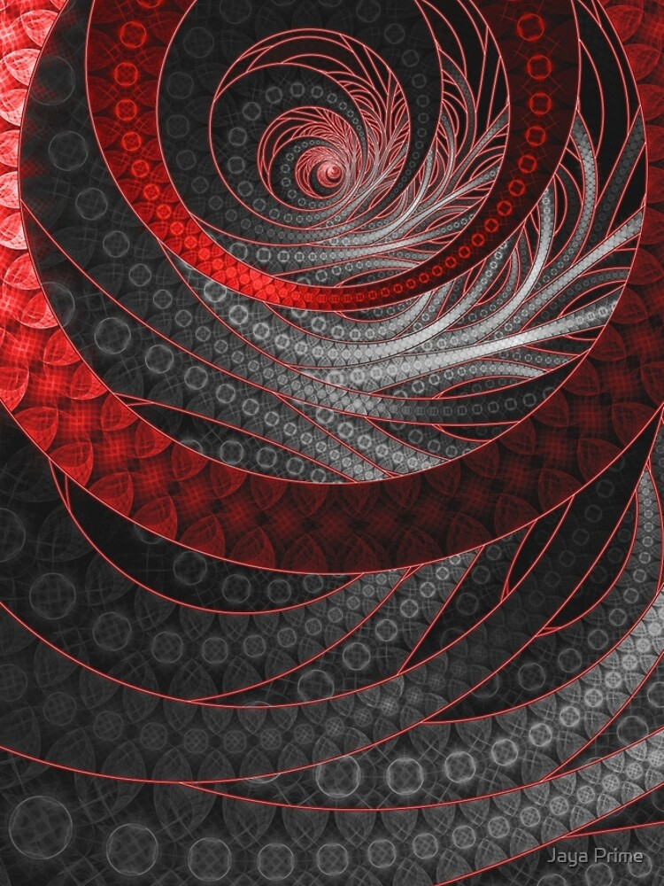 Corded Crimson Scales in the Eye of the Vampire by jayaprime