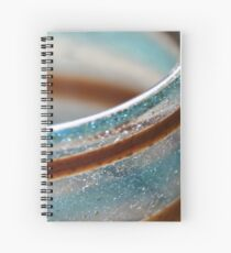 Abstract in glass  Spiral Notebook