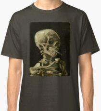 Vincent Van Gogh smoking skeleton Classic T-Shirt