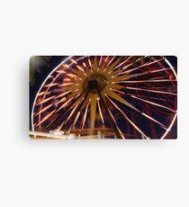 Fun Wheel Glow Canvas Print