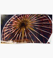Fun Wheel Glow Poster