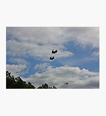 Helicopters Photographic Print