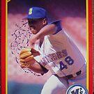 453 - Dennis Powell by Foob's Baseball Cards