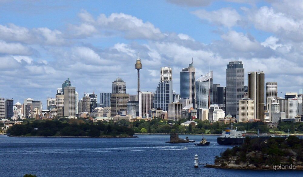 Sydney Harbour from Taronga Zoo by yolanda