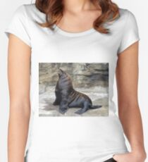 Fur Seal Women's Fitted Scoop T-Shirt